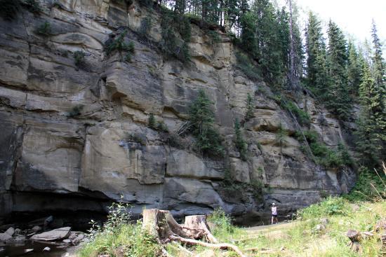 Hard Luck Canyon: Canyon wall