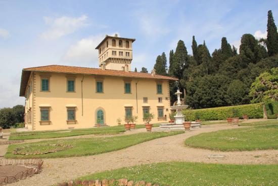 Villa medicea della petraia bild von villa medicea la for Villa la petraia