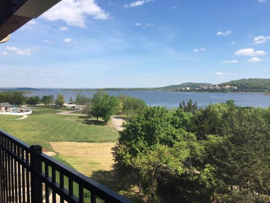 Hollister, MO: View from balcony