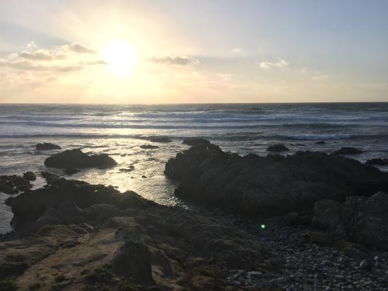 Pebble Beach, CA: The beach at Spanish Bay