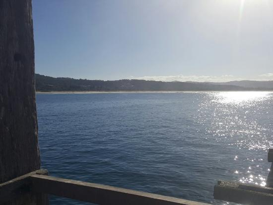 Old wharf at Tathra