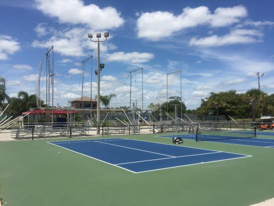 Port Saint Lucie, FL: kids club, kids size tennis courts trapeze for all who dare