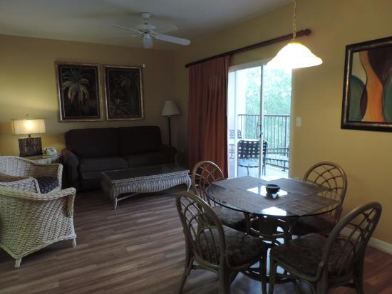 One bedroom standard dining room and living room area. This unit ...