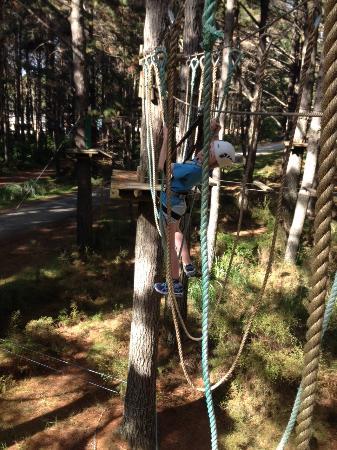 Woodhill, Nowa Zelandia: High Flyers Course 7
