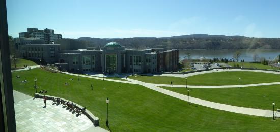Marist College: What a view. Marist Beach!