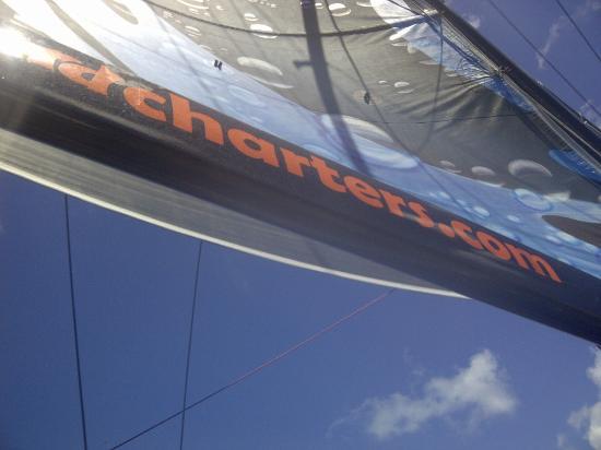 Simpson Bay, St Martin / St Maarten: Amateurs de vitesse...