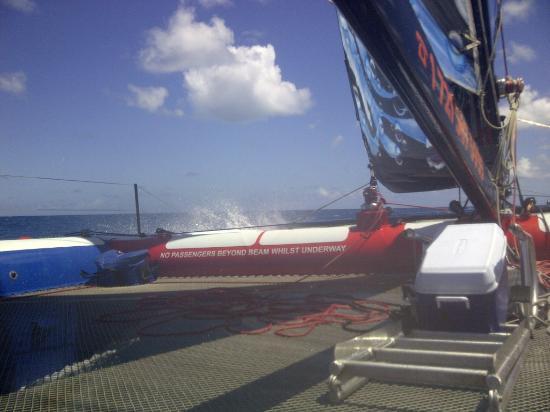 Simpson Bay, St Martin / St Maarten: Pas avoir peur de ce mouillé ;-)