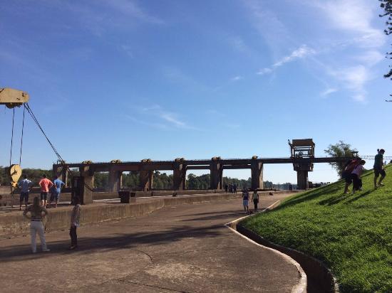 Bom Retiro do Sul, RS: Vista da Barragem
