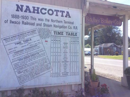 Nahcotta, WA: Love this historic stop
