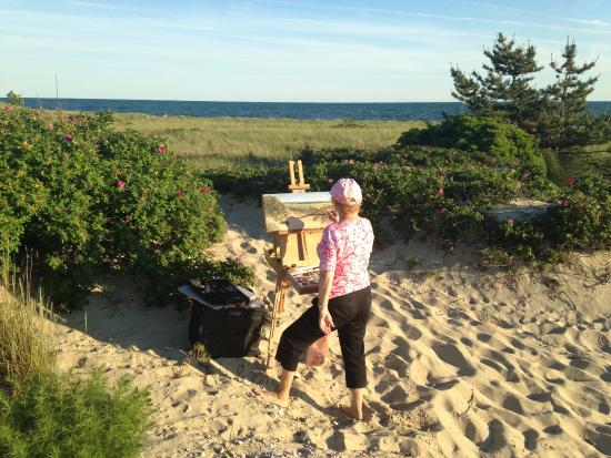 Harwich, MA: As an artist I find Bank Street Beach an inspiration and joy to paint.