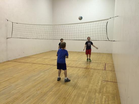 Callicoon, estado de Nueva York: Volleyball (wallyball)!