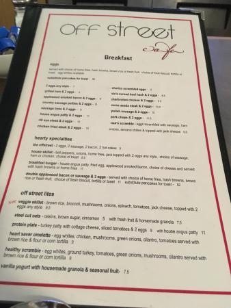 Cerritos, Kaliforniya: Main menu
