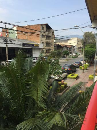 The Wandering Paisa: Looking out from the balcony