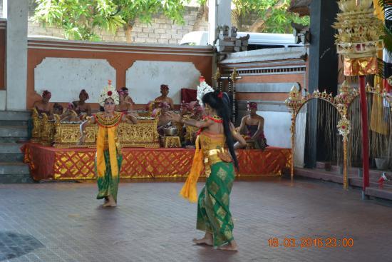 "Sukawati, Indonesia: Dance performance of the ""Barong & Kris Dance""."