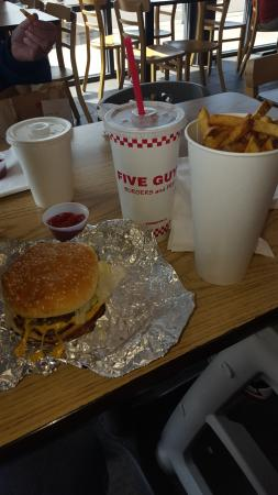 Five Guys Burgers and Fries: Five Guys Cheeseburger