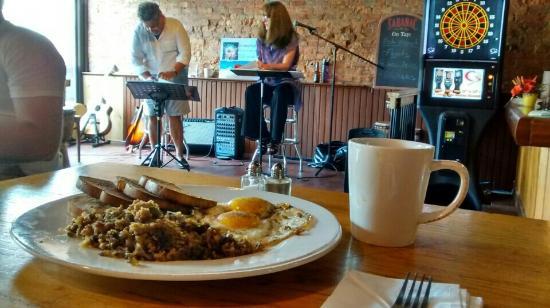 Trumansburg, NY: Brunch breakfast plate.