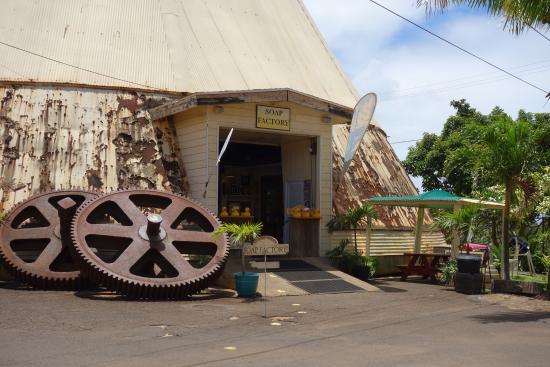Waialua, Гавайи: ノースショアソープファクトリー (ワイアルア シュガー ミル)