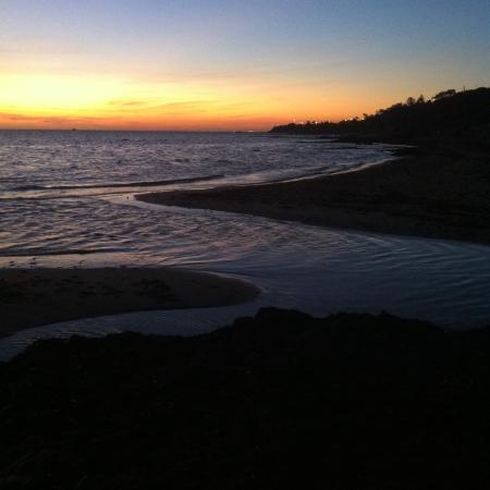 Beaumaris, Avustralya: Sunset at Ricketts Point
