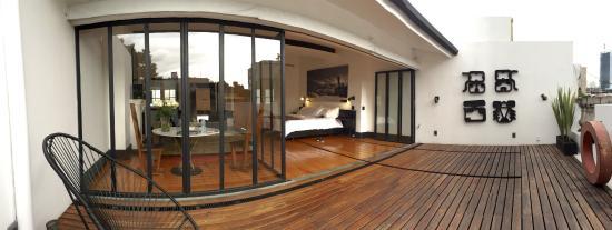 La Terraza Suite Picture Of La Valise Mexico City
