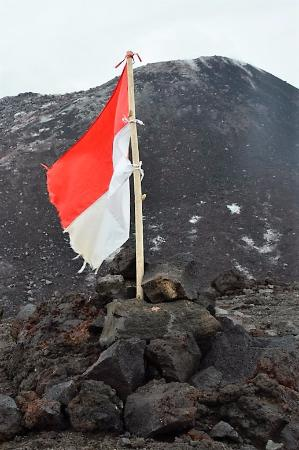 Krakatau Volcano (Krakatoa): volcano summit