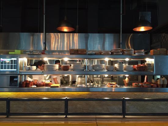 Open Kitchen Picture Of Jamie S Italian Hong Kong Tripadvisor