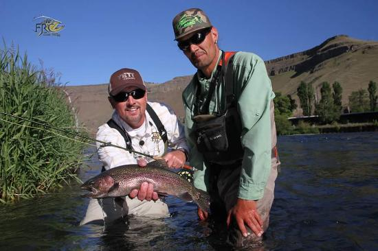 Warm Springs, Oregon: Curtis Fleming host of Fly rod chronicles