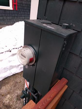 McCall, ID: This is where water can go into the electrical box