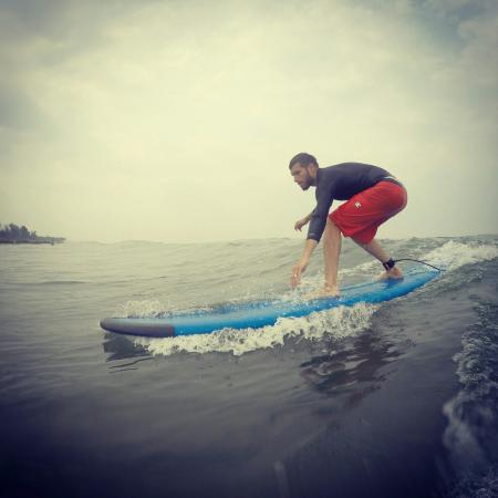 Ashvem Beach, Indien: Banana Surf School