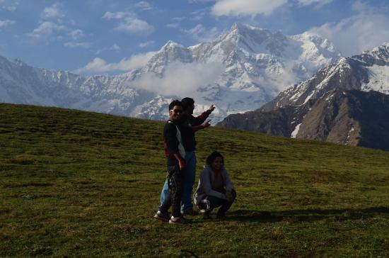 Kedarnath, Indie: Mt Chowkhamba