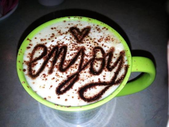 Vineland, Nueva Jersey: The Tiramisu latte......one of many delicious lattes available!