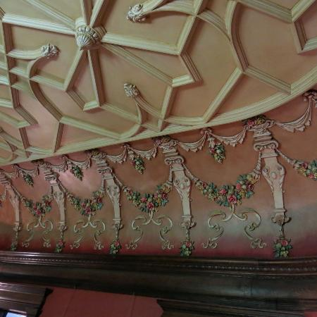 Ceiling in Dawes House, Evanston, IL
