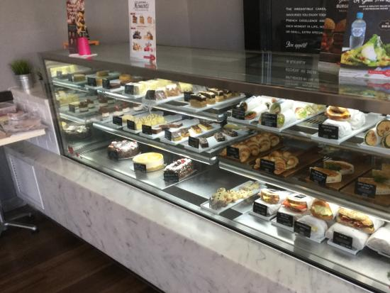 Pastry cabinet Michel's Patisserie - Picture of Michel's ...