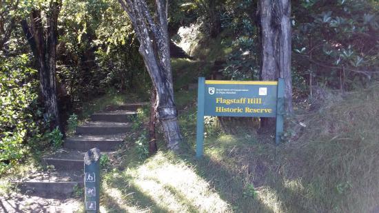 Russell, Nueva Zelanda: Entrance from Wellington St