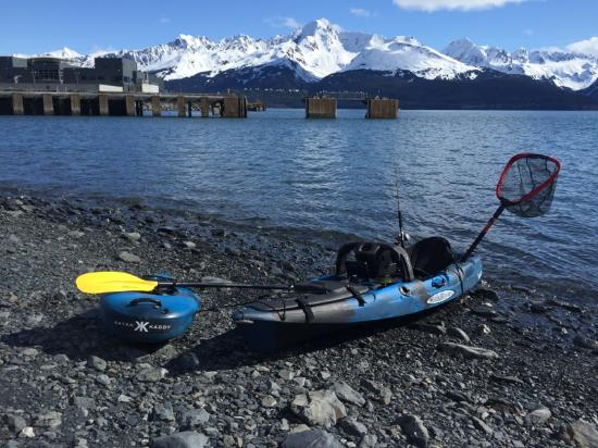 Alaska winter jackets rental and retail picture of for Fishing in anchorage