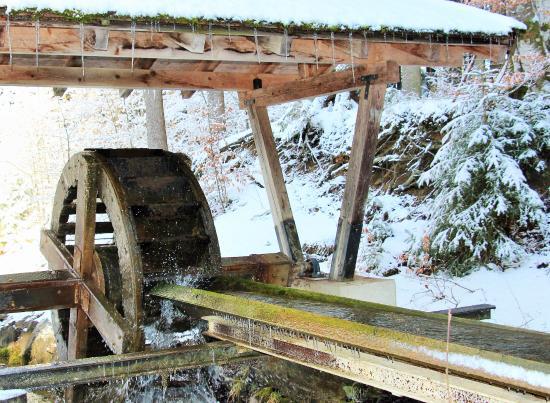 Seeg, Γερμανία: Wasserrad am Senkele