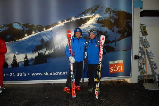 Nachtski Soll: Austrias largest nightskiing, snowboarding and tobogganing area.