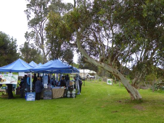 Penneshaw, Australien: lovely little market