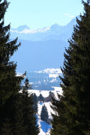 Seeg, Γερμανία: Winterwanderung zur Alpe Beichelstein