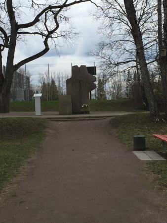 Monument Honouring the Estonian Language