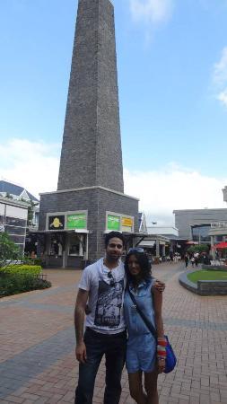 Moka: The minaret inside the Bagatelle mall