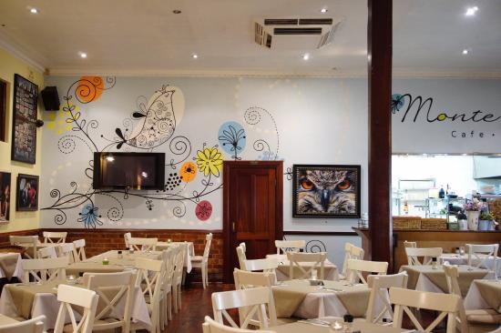 Mount Lawley, Australia: Bright restaurant