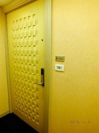 Bless Residence: Entrance
