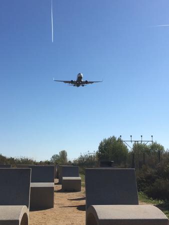 mirador del aeropuerto del prat