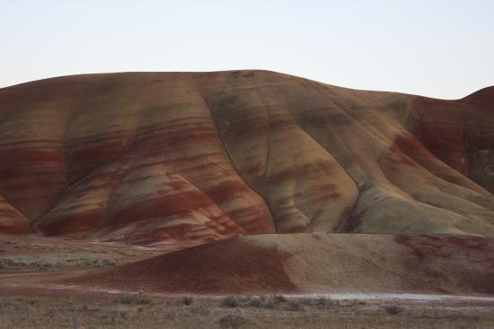 John Day Fossil Beds National Monument- Sheep Rock: Typical view.