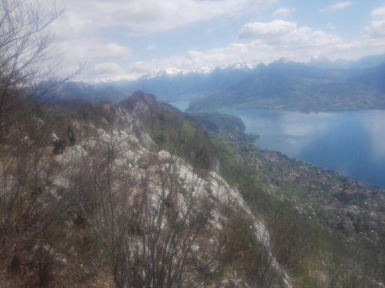 Haute-Savoie, Prancis: Mont-Veyrier