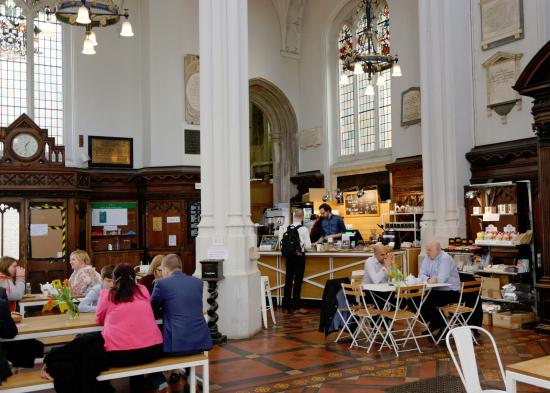 The Guild Church Of St Mary Aldermary Cafe