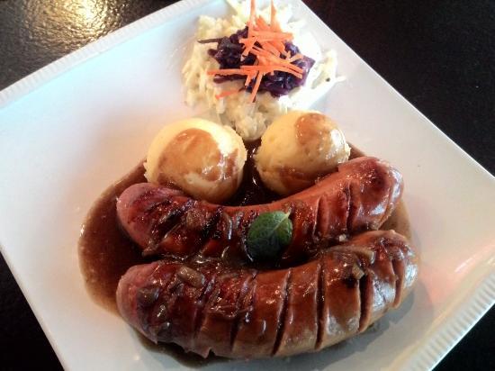 German Sausage House : beef sausages