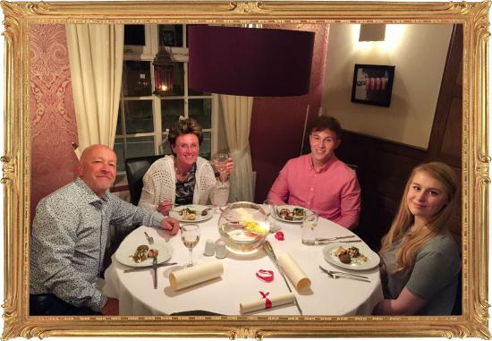 Abbots Bromley, UK: Michelin Diners