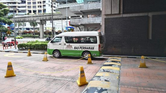 shuttle bus location on berjaya hotel berjaya times square rh tripadvisor co za