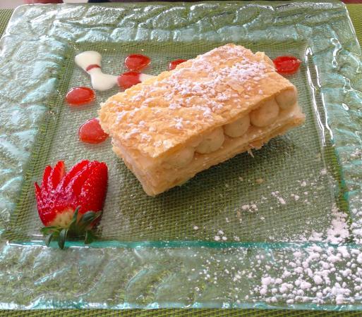 Vierzon, Francia: mille feuille pistache